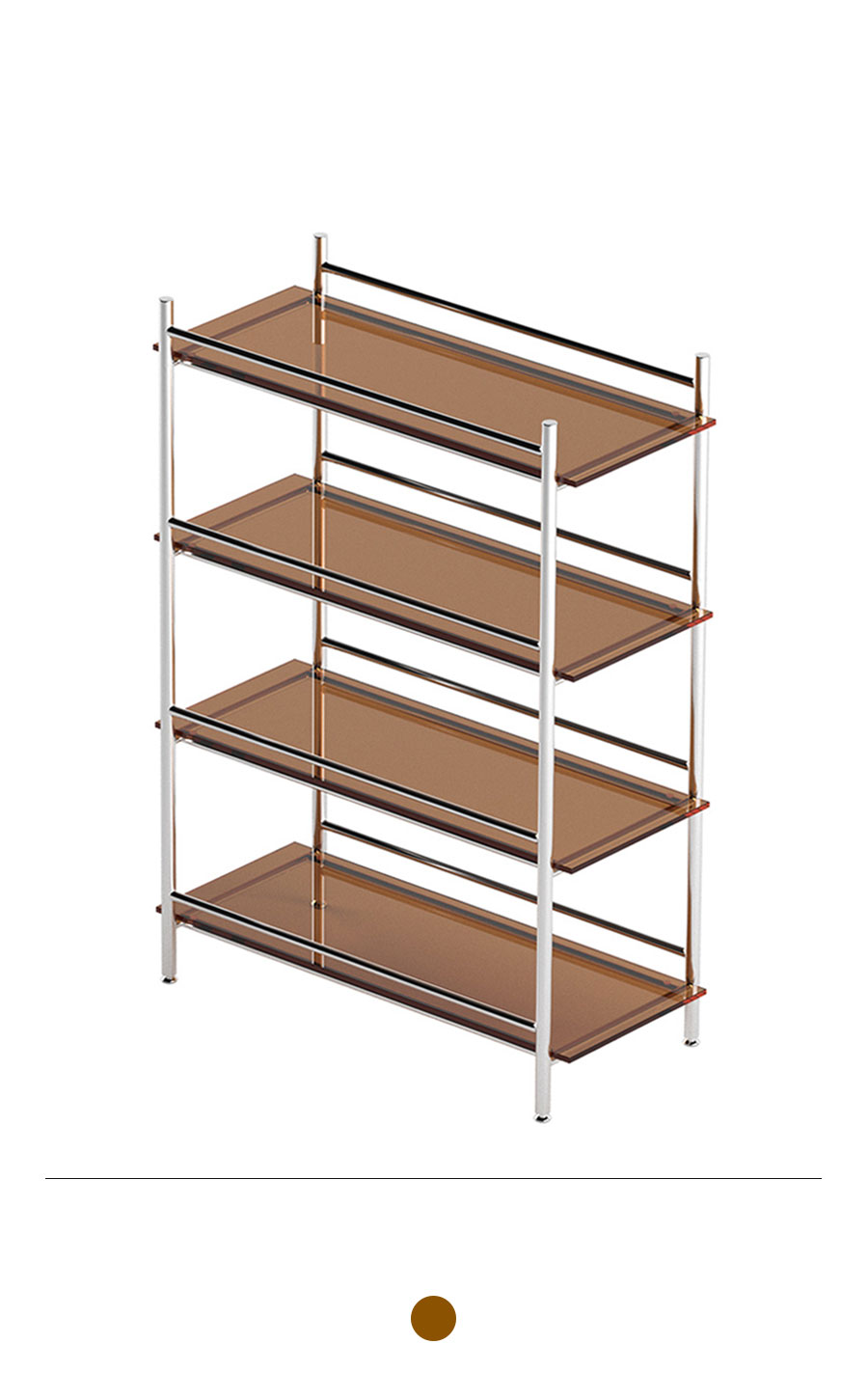 MIHLA 4-tier Shelf