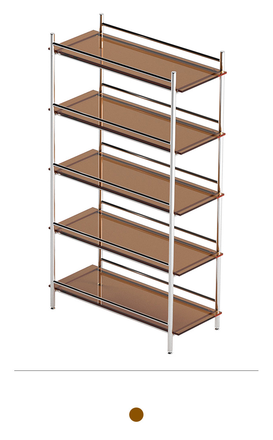 MIHLA 5-tier Shelf