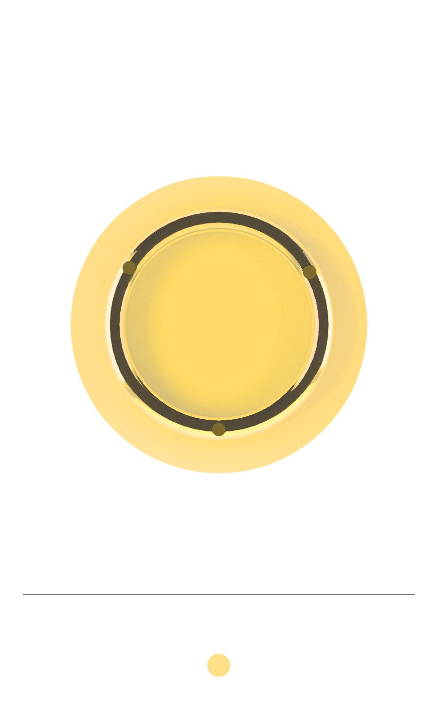 SUNSET Tray (Mimosa Yellow)