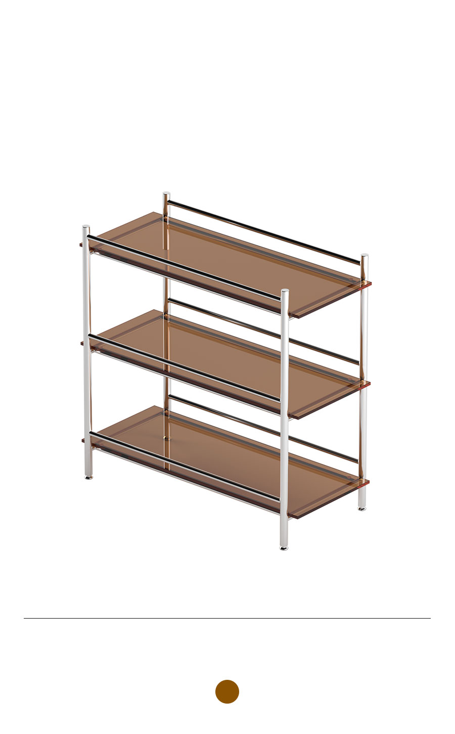 MIHLA 3-tier Shelf